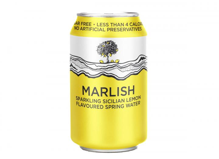 Marlish Sicilian lemon sparkling water 330ml