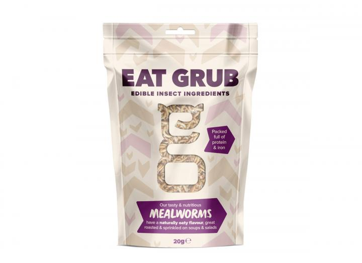 Edible mealworms from Eat Grub
