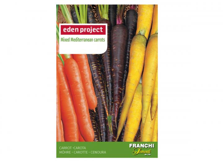 Mixed Mediterranean carrot seeds