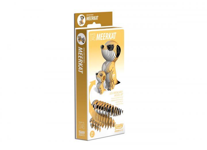 Eugy Meerkat 3D model kit