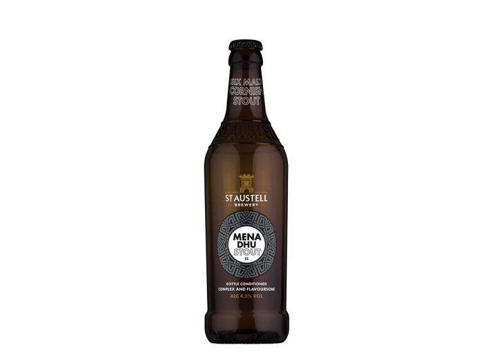 St Austell Brewery mena dhu stout 500ml