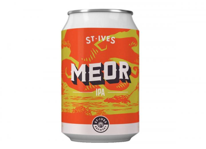 Meor IPA from St Ives Brewery in Cornwall