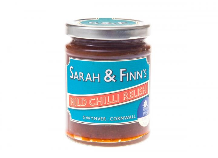Mild chilli relish from Sarah & Finn's