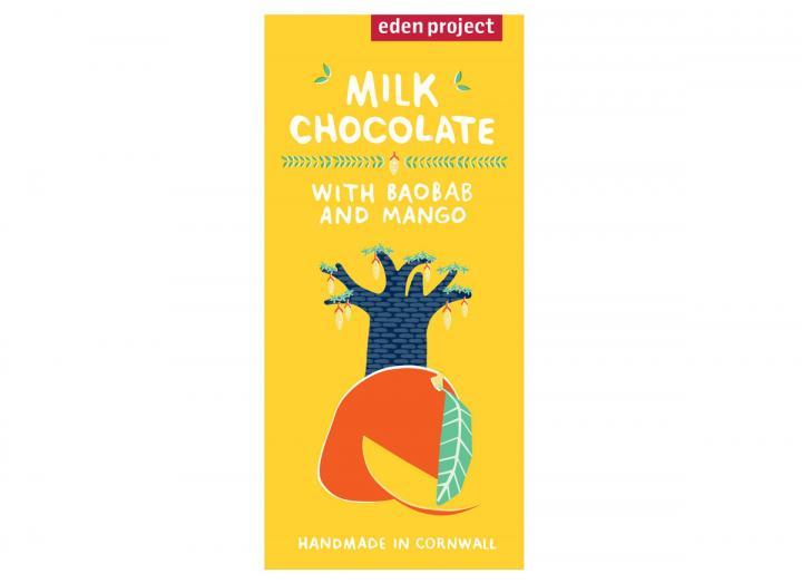 Milk chocolate with baobab & mango