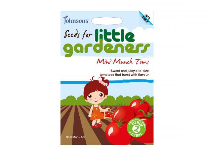 Seeds for little gardeners - mini munch tomatoes