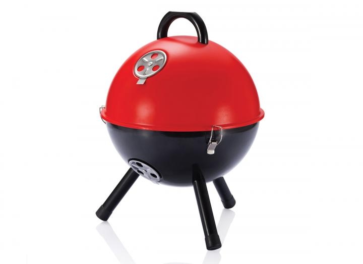 Mini portable BBQ red
