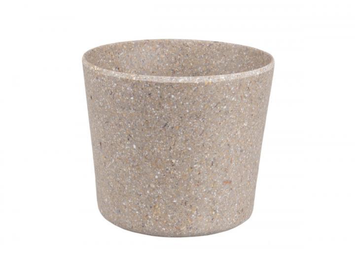 Mini pot set of 5 in slate grey