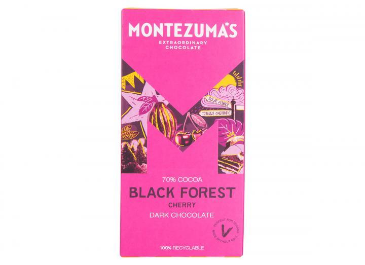 Montezuma's Black Forest - dark chocolate with cherry 90g bar