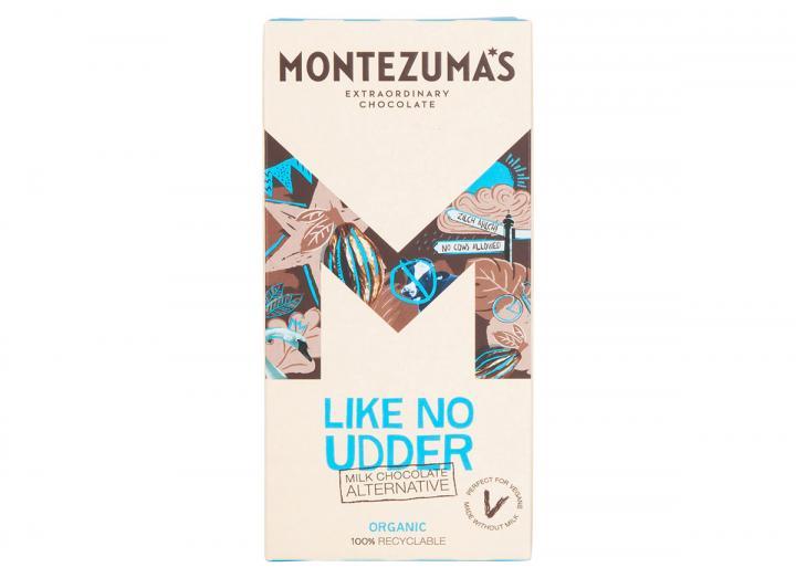 Montezuma's Like No Udder - vegan friendly milk chocolate alternative