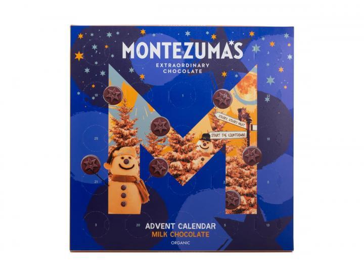 Montezuma's milk chocolate advent calendar 250g