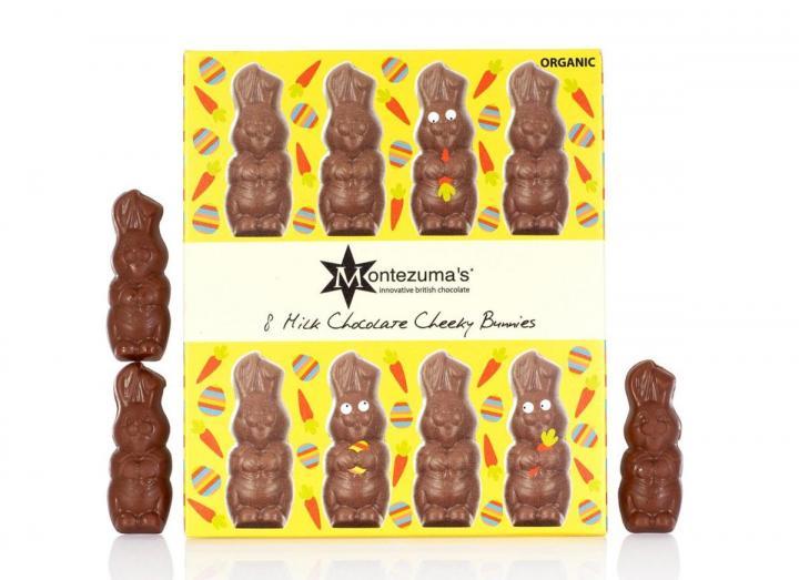 Montezuma's milk chocolate cheeky bunnies