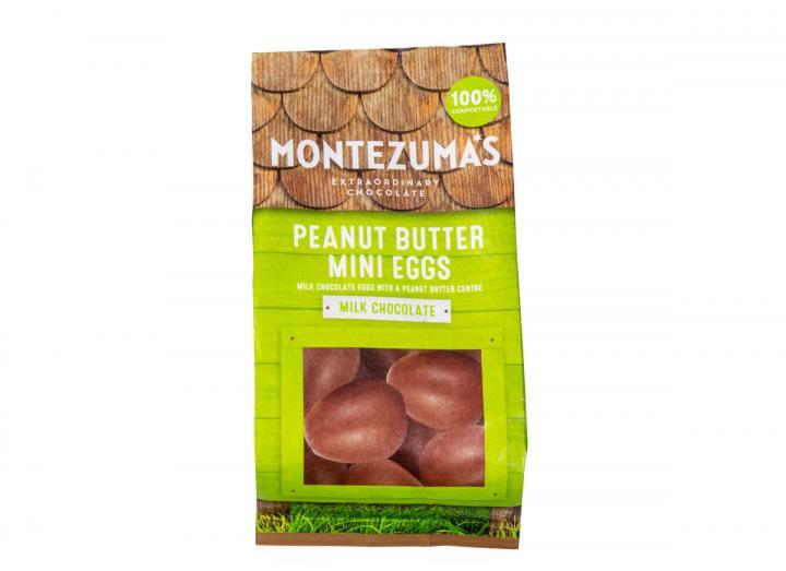 Montezuma's milk chocolate peanut butter mini eggs 150g