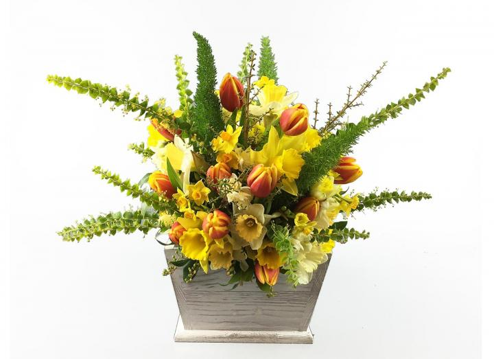 Spring bouquet, hand-tied by Tregothnan especially for Mother's Day