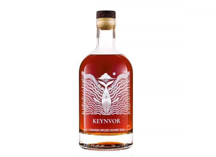 Mounts Bay Distillery keynvor spiced honey rum 70cl