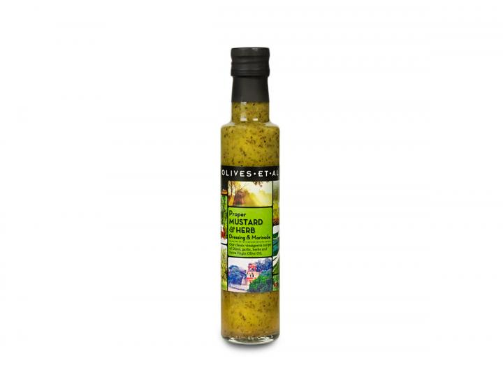 Mustard & herb dressing from Olives Et Al