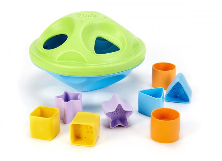 My first shape sorter recycled plastic