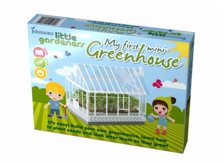 seeds for little gardeners - my first mini greenhouse