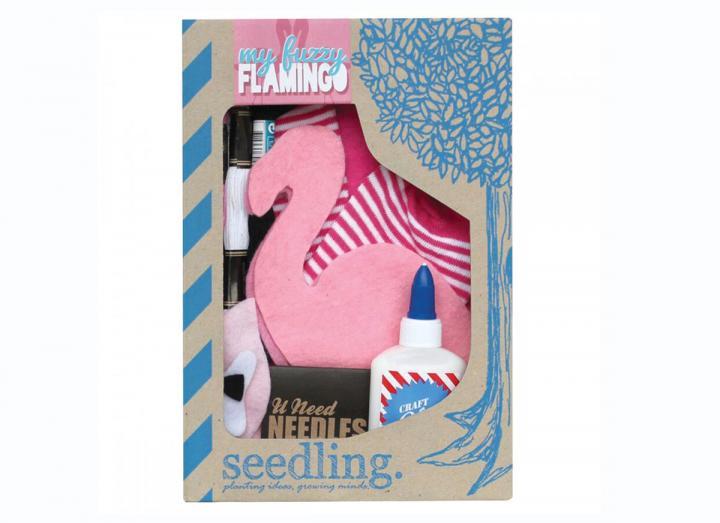 My fuzzy flamingo kit