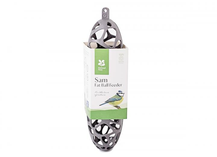National Trust recycled fat ball feeder