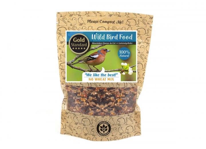 Cotswold Granaries 'No Wheat' bird food mix from Wildlife World