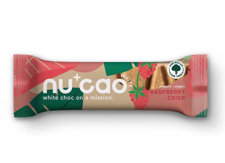 Nucao raspberry crisp 40g