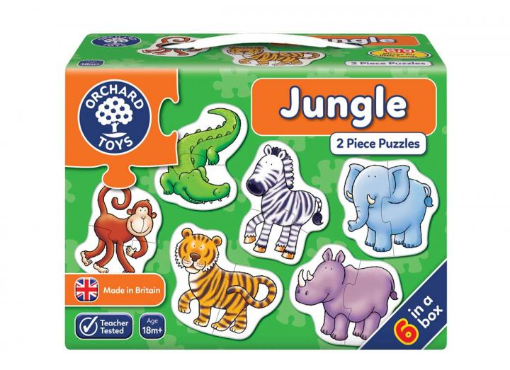 Jungle 2 piece jigsaw