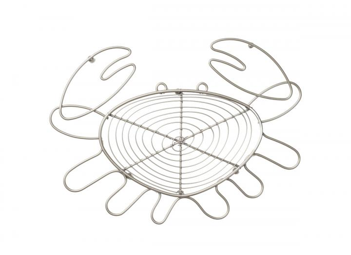 Ocean Collection wire crab shaped trivet