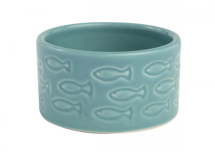 Ocean collection ceramic dip dish