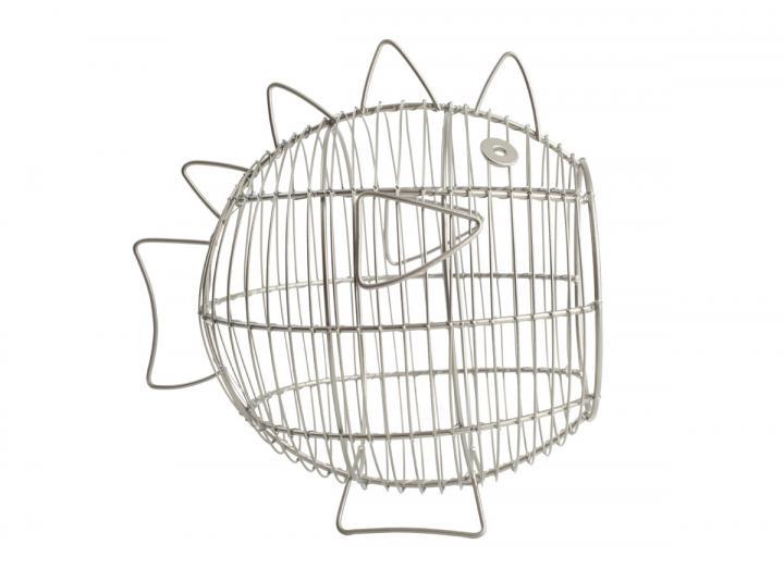 Ocean collection wire fish storage basket