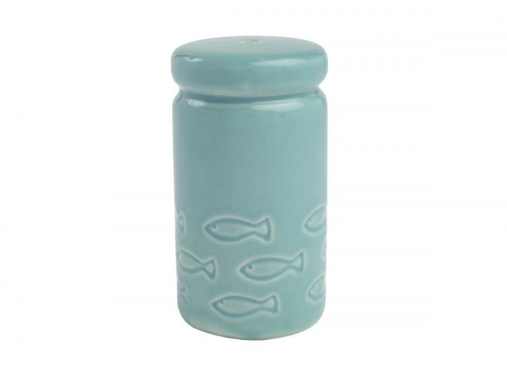 Ocean collection ceramic salt shaker