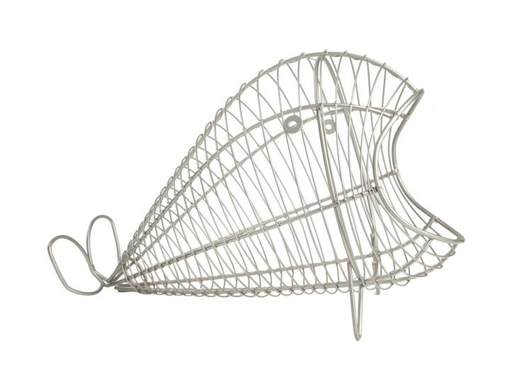Ocean collection wire whale storage basket