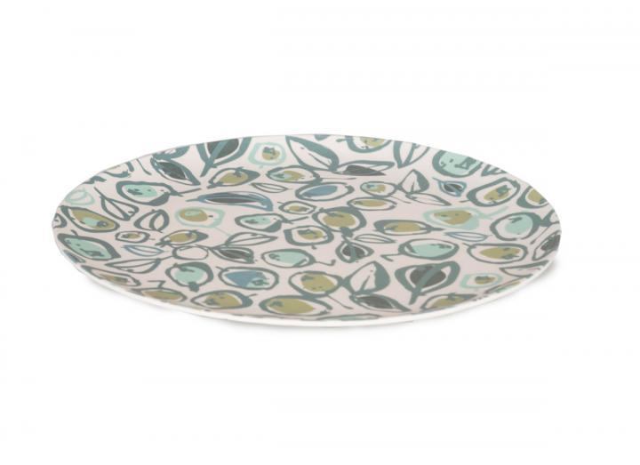 Olive print design plate