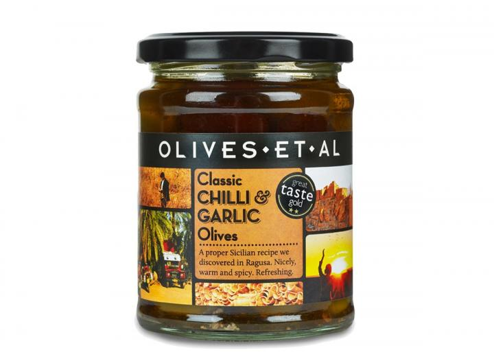 Olives Et Al classic chilli & garlic olives 250g