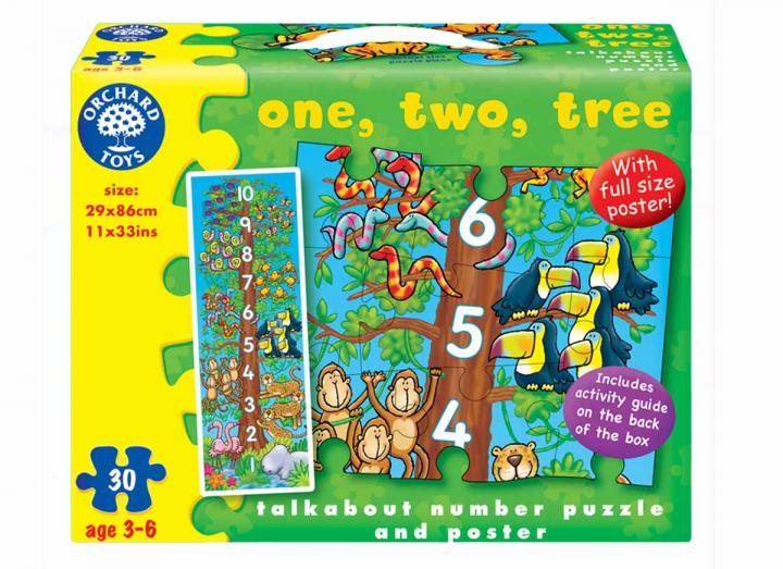 One, two, tree