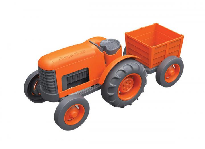 Tractor recycled plastic