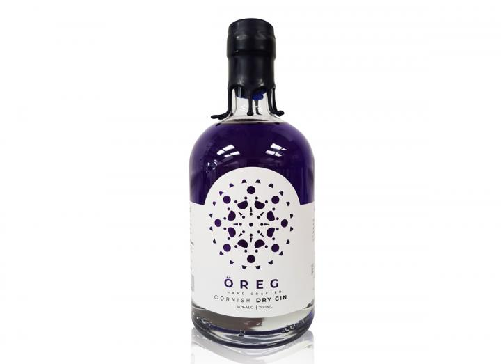 Oreg colouring changing gin