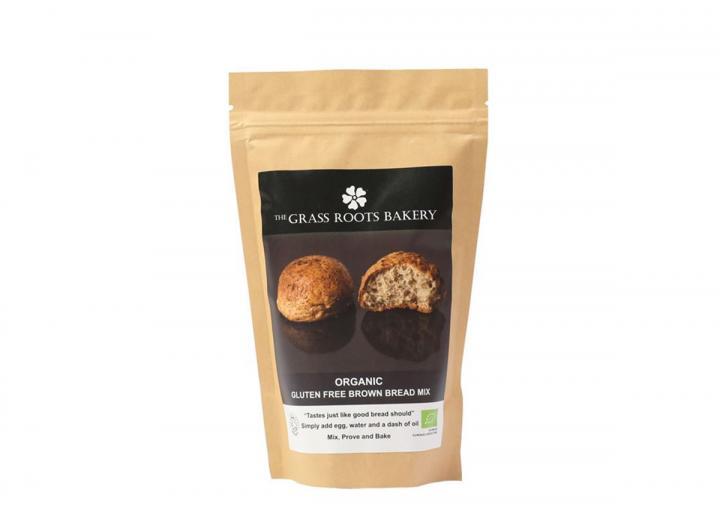 Organic gluten free brown bread mix