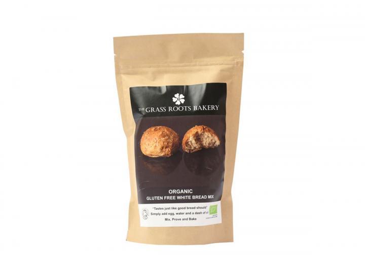 Organic gluten free white bread mix