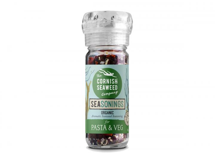 Organic seaweed seasoning for pasta & veg from The Cornish Seaweed Company