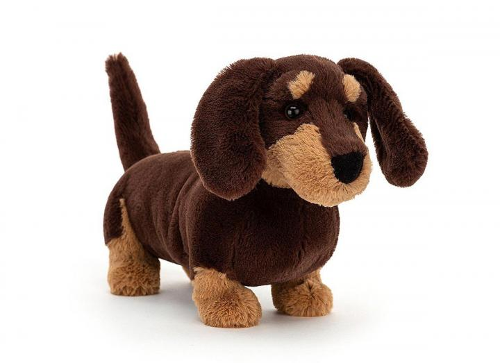Otto Sausage Dog cuddly toy from Jellycat
