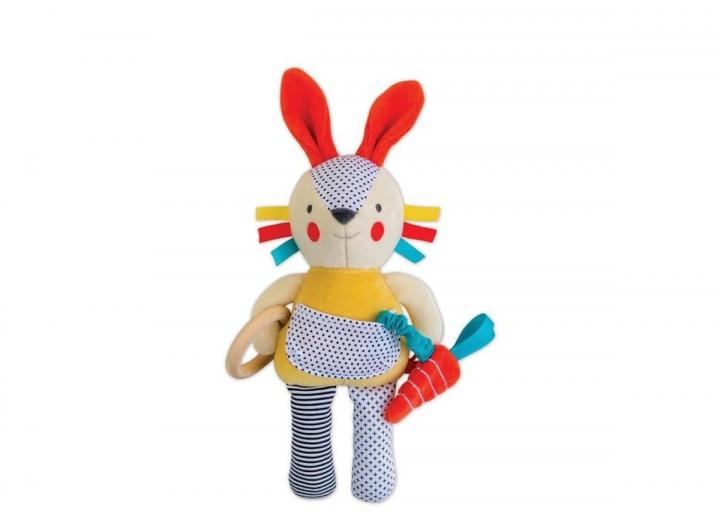 Organic cotton soft bunny toy