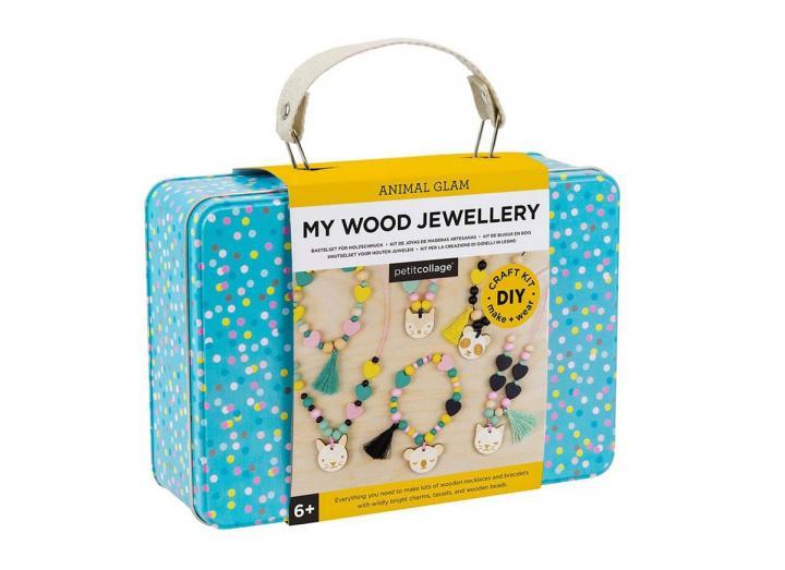 Wood jewellery kit