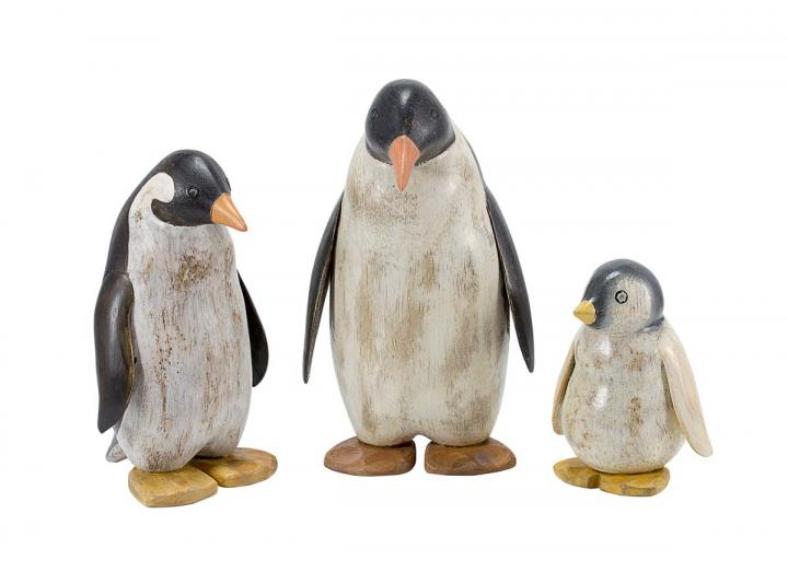 Painted emperor penguins from DCUK