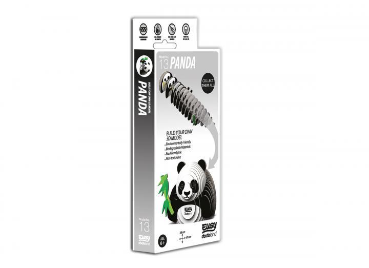 Eugy Panda 3D model kit