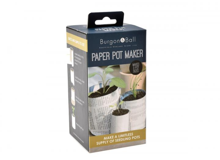 Paper pot maker from Burgon & Ball