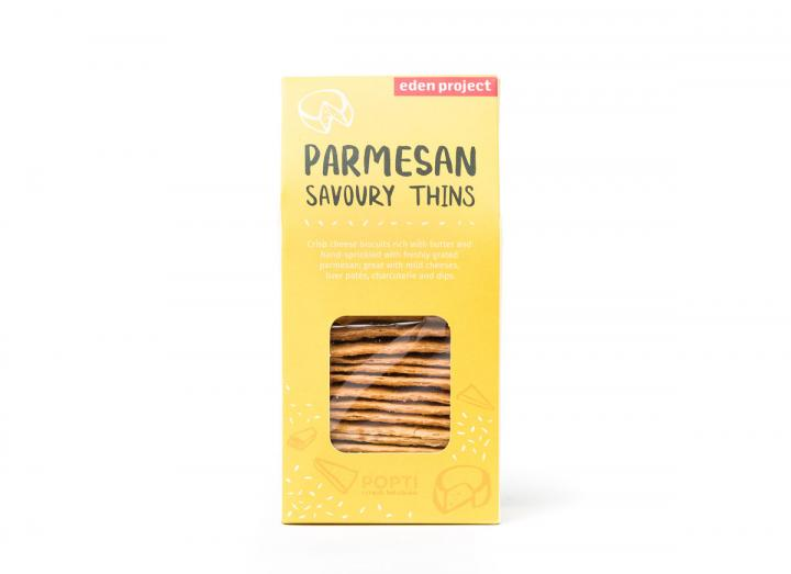 Parmesan savoury thins