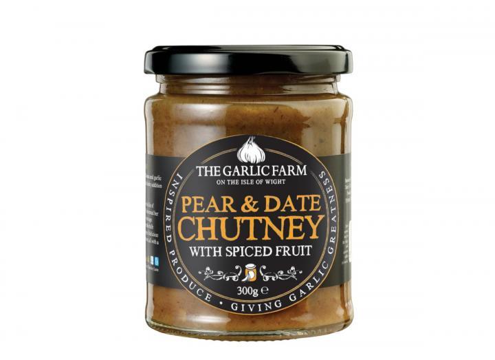 Pear & date chutney from The Garlic Farm