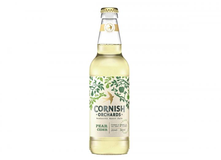 Pear cider from Cornish Orchards