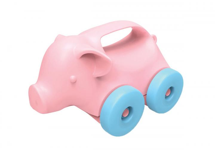 Pig on wheels recycled plastic