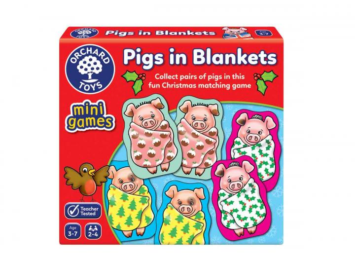 Pigs in Blankets mini game from Orchard Toys